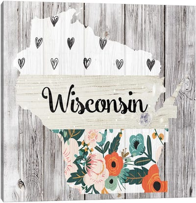 Wisconsin Canvas Art Print
