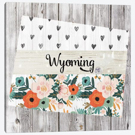 Wyoming Canvas Print #FPP131} by Front Porch Pickins Art Print
