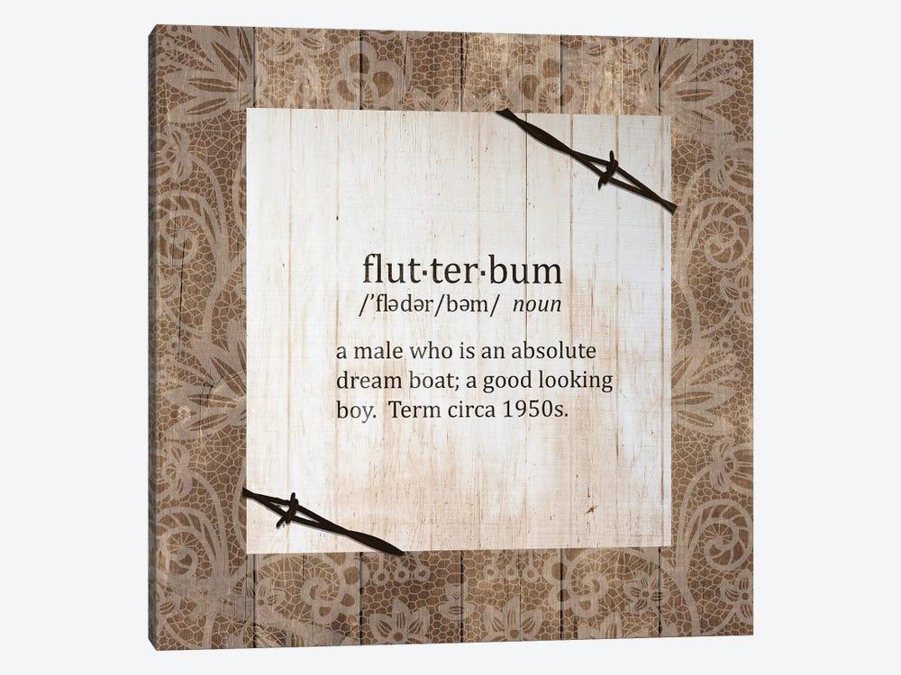 Flutterbum by Front Porch Pickins 1-piece Canvas Print