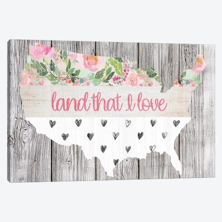 Land That I Love Canvas Print #FPP147} by Front Porch Pickins Canvas Art Print