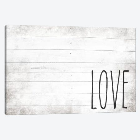 Love Shiplap Canvas Print #FPP152} by Front Porch Pickins Canvas Art Print