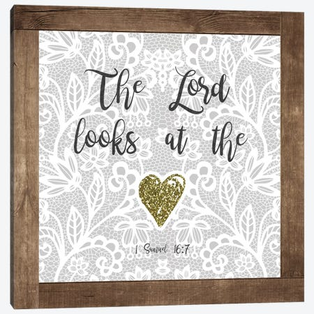 At The Heart Canvas Print #FPP15} by Front Porch Pickins Canvas Artwork