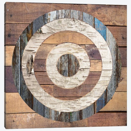 Bullseye I Canvas Print #FPP160} by Front Porch Pickins Canvas Art