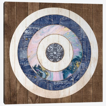 Bullseye II Canvas Print #FPP161} by Front Porch Pickins Canvas Artwork