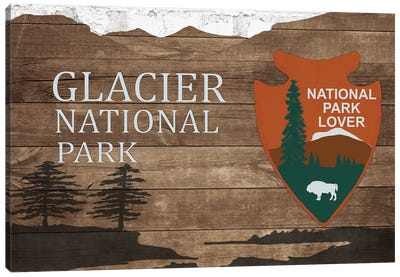 Glacier National Park  Canvas Art Print