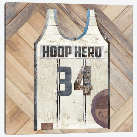 Hoop Hero Canvas Print #FPP166} by Front Porch Pickins Canvas Art Print