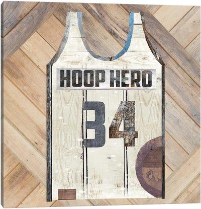 Hoop Hero Canvas Art Print