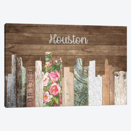 Houston Canvas Print #FPP167} by Front Porch Pickins Canvas Art Print