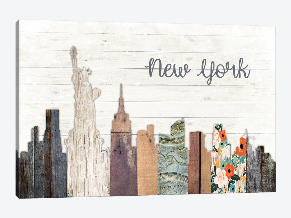 New York by Front Porch Pickins 1-piece Art Print