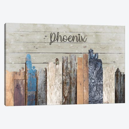 Phoenix Canvas Print #FPP174} by Front Porch Pickins Canvas Artwork