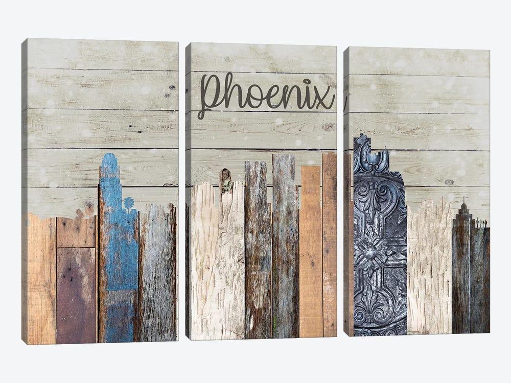 Phoenix by Front Porch Pickins 3-piece Canvas Artwork
