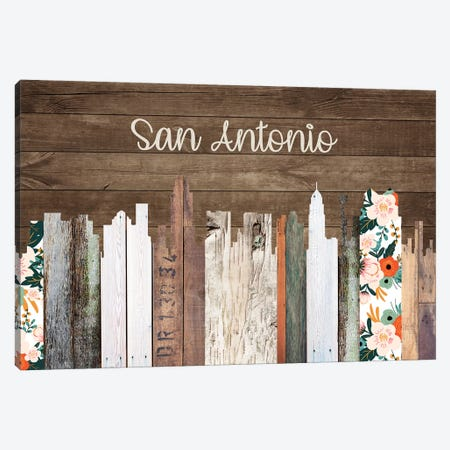 San Antonio Canvas Print #FPP176} by Front Porch Pickins Canvas Art