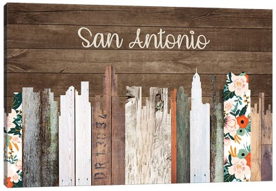 San Antonio Canvas Art Print