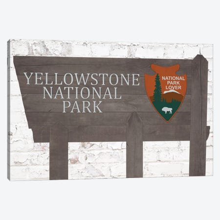 Yellowstone National Park Canvas Print #FPP178} by Front Porch Pickins Canvas Art Print