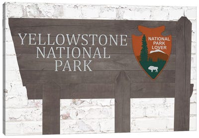 Yellowstone National Park Canvas Art Print