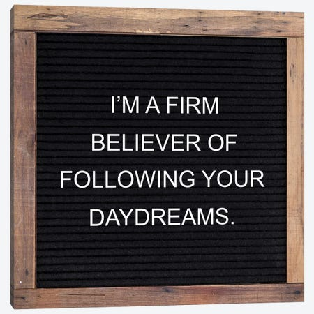 Firm Believer Canvas Print #FPP187} by Front Porch Pickins Canvas Art Print