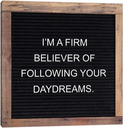 Firm Believer Canvas Art Print