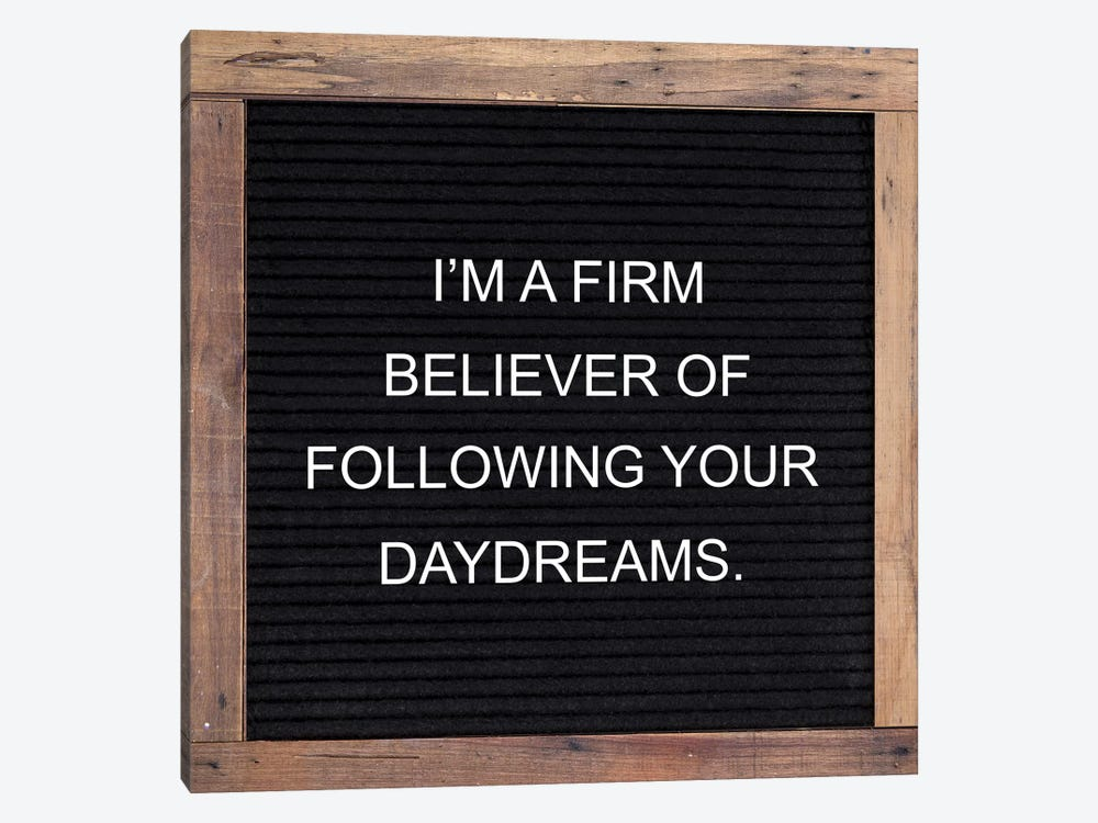Firm Believer by Front Porch Pickins 1-piece Canvas Artwork