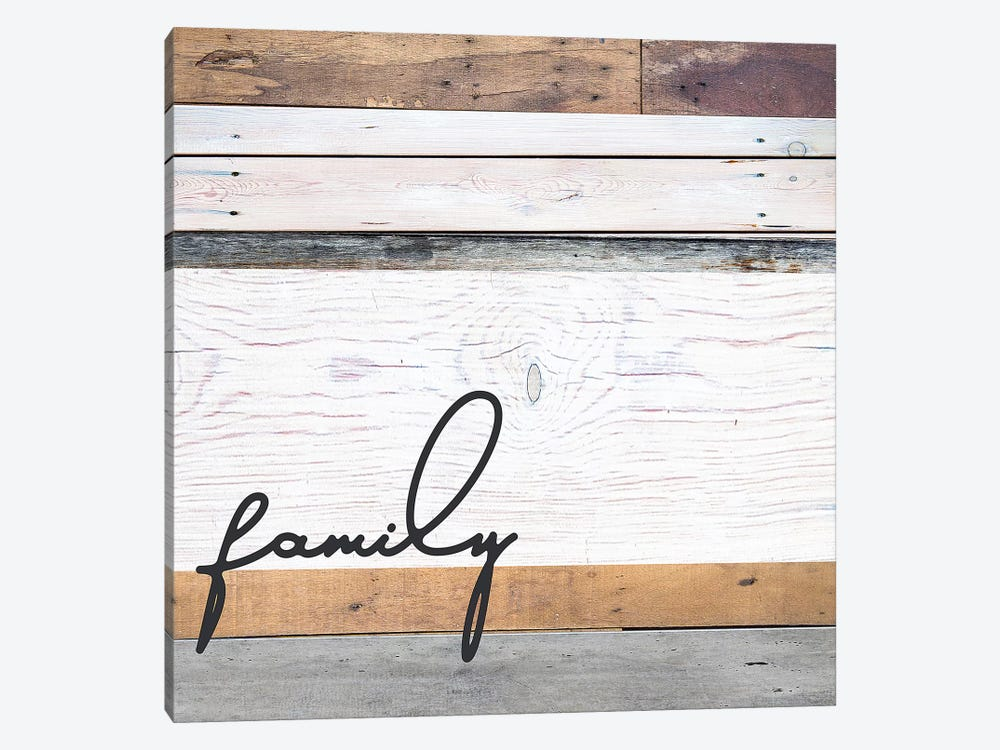 Family Pallet by Front Porch Pickins 1-piece Canvas Artwork