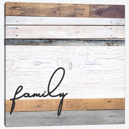 Family Pallet Canvas Print #FPP18} by Front Porch Pickins Art Print