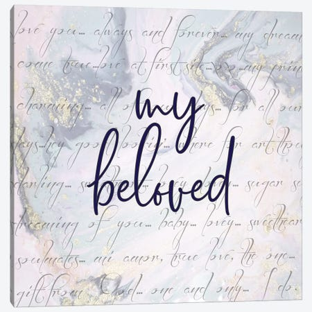 My Beloved Canvas Print #FPP198} by Front Porch Pickins Canvas Art Print