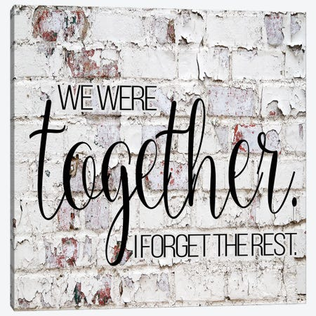 German Schmear Together Canvas Print #FPP19} by Front Porch Pickins Canvas Art Print