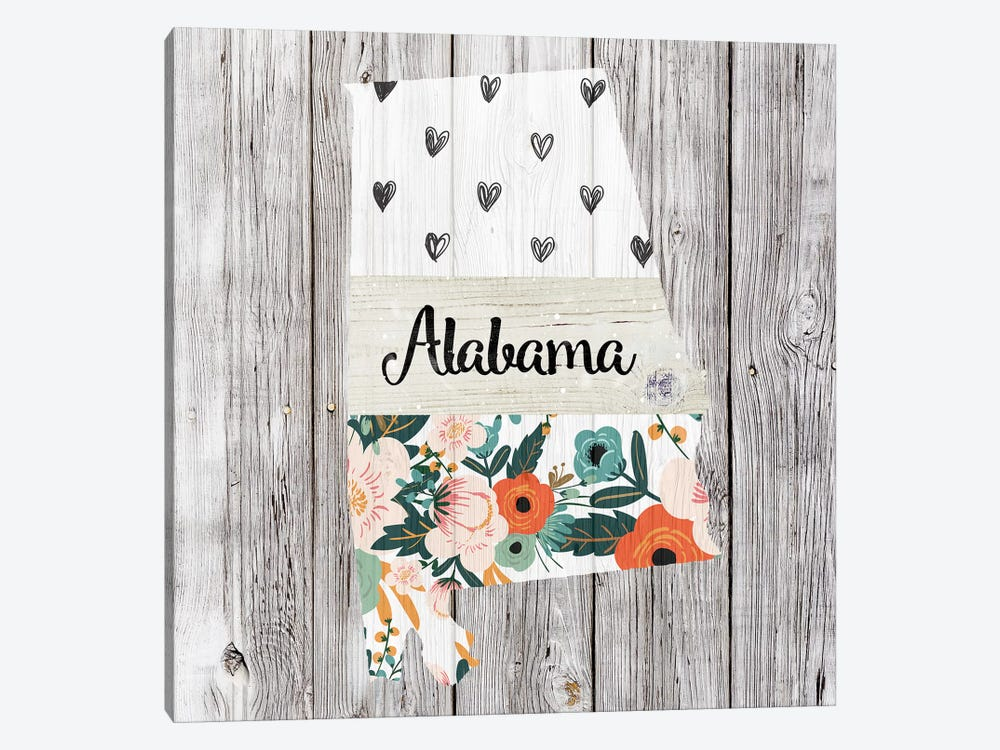 Alabama by Front Porch Pickins 1-piece Art Print
