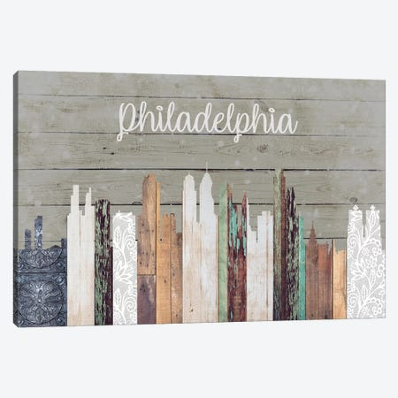 Philadelphia Canvas Print #FPP203} by Front Porch Pickins Canvas Art Print