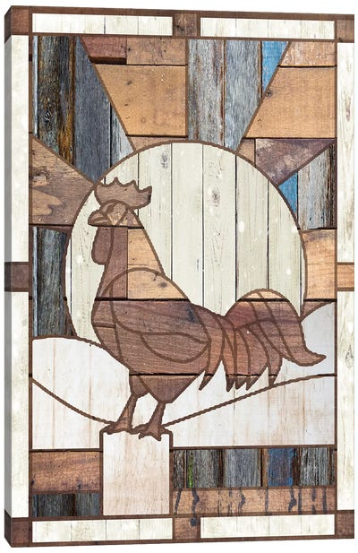 Rooster Canvas Art Print
