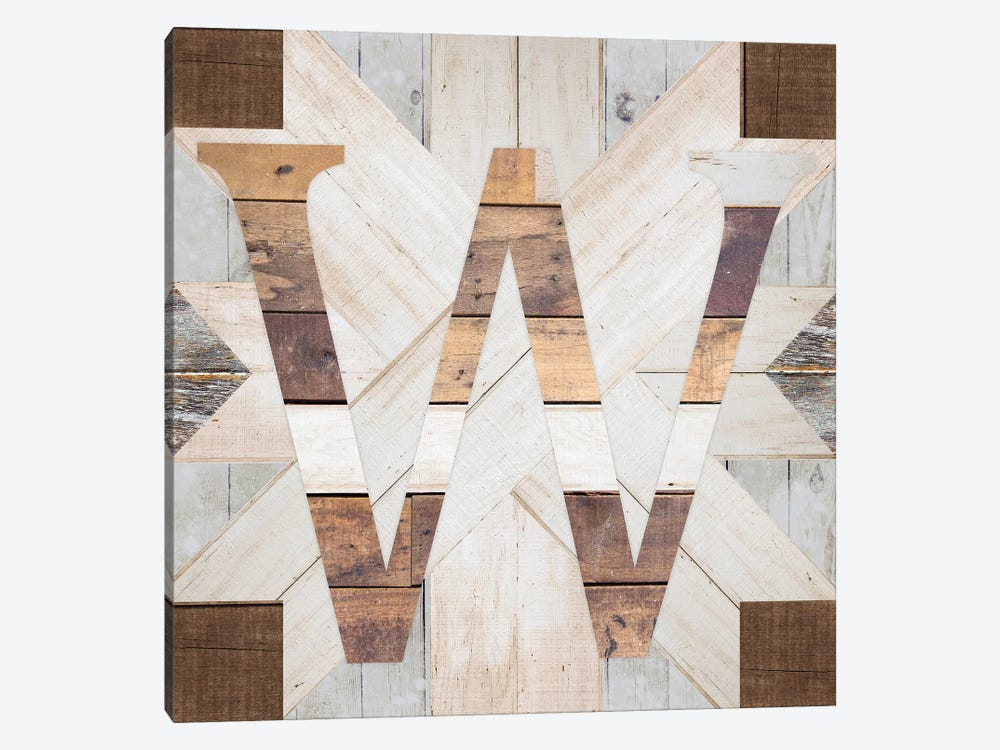 W by Front Porch Pickins 1-piece Canvas Art