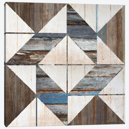 Barn Quilt IX Canvas Print #FPP229} by Front Porch Pickins Canvas Print
