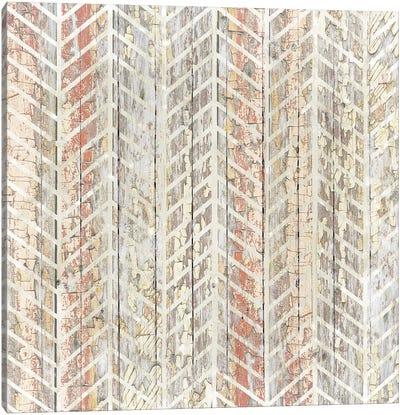Chippy Herringbone Canvas Art Print