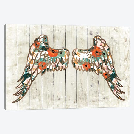 Angel Wing III Canvas Print #FPP258} by Front Porch Pickins Canvas Art