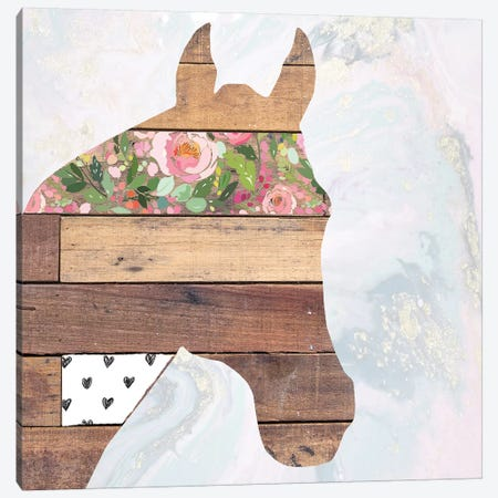 Horse I Canvas Print #FPP28} by Front Porch Pickins Canvas Wall Art