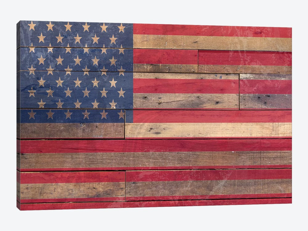 Old Glory by Front Porch Pickins 1-piece Canvas Print