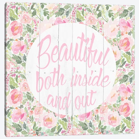 You're Beautiful Canvas Print #FPP299} by Front Porch Pickins Canvas Art