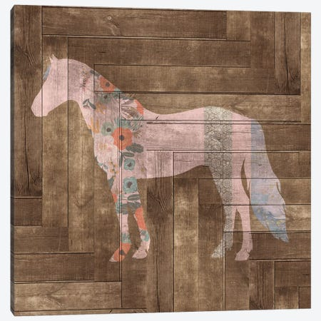 Horse II Canvas Print #FPP29} by Front Porch Pickins Canvas Artwork