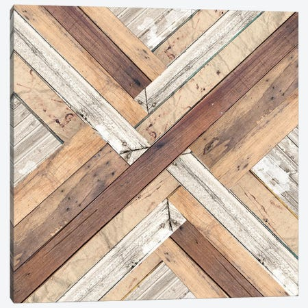 X Marks The Spot Canvas Print #FPP307} by Front Porch Pickins Canvas Print