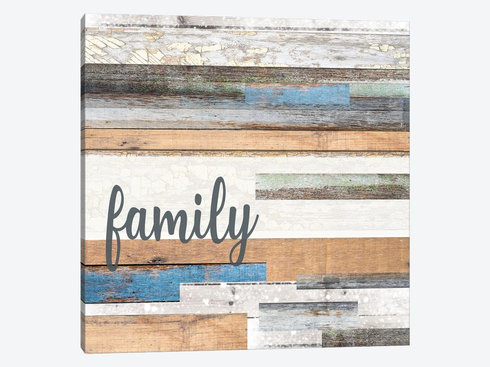 The Best Things In Life Are Family by Front Porch Pickins 1-piece Canvas Print