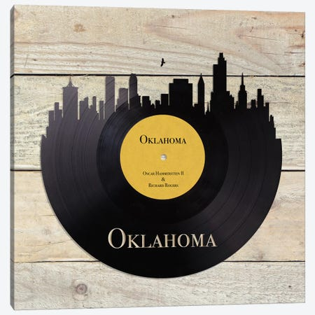 Oklahoma Canvas Print #FPP34} by Front Porch Pickins Canvas Wall Art