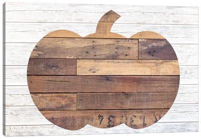 Pallet Pumpkin Canvas Art Print