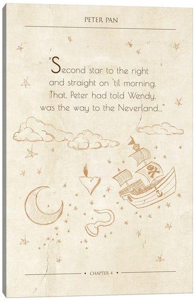 Peter Pan Canvas Art Print