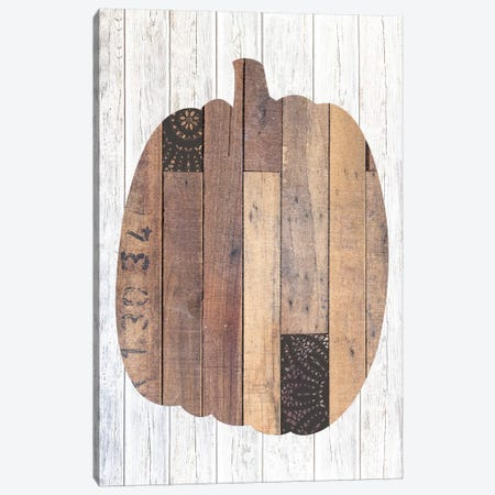 Pumpkin Black II Canvas Print #FPP40} by Front Porch Pickins Canvas Wall Art