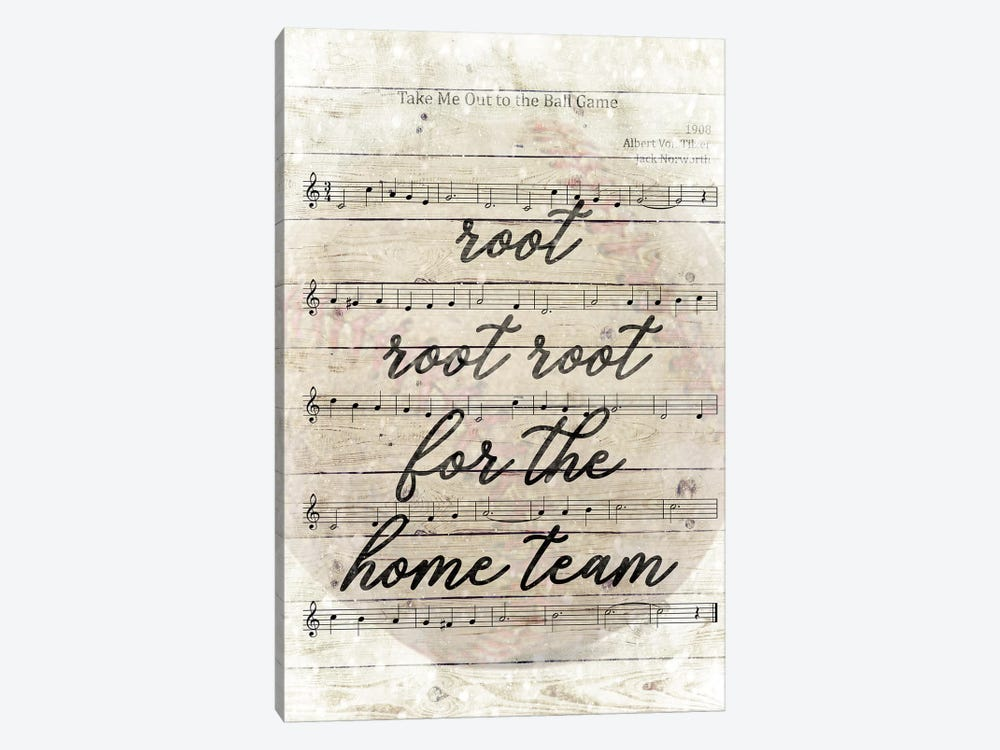 Take Me Out To the Ball Game by Front Porch Pickins 1-piece Canvas Wall Art