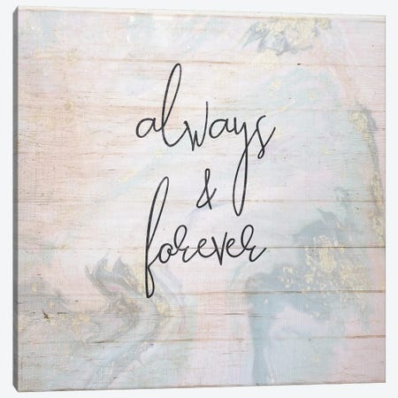 Always And Forever Canvas Print #FPP51} by Front Porch Pickins Canvas Print