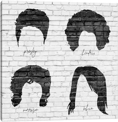 Rock Hair Canvas Art Print