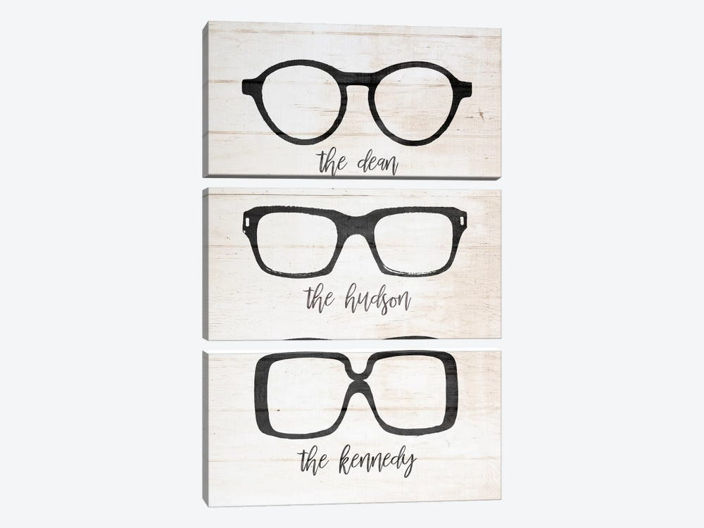 Specs by Front Porch Pickins 3-piece Canvas Artwork