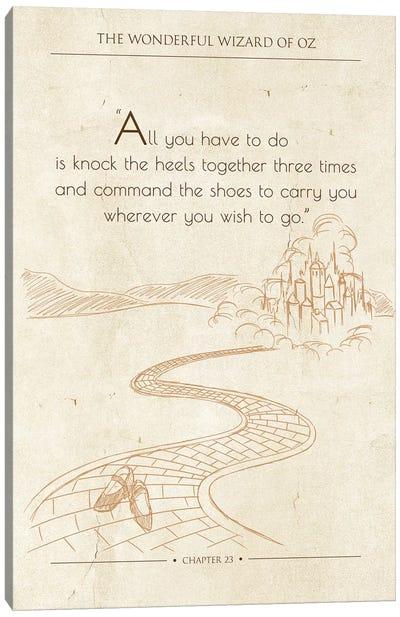 The Wonderful Wizard of Oz Canvas Art Print