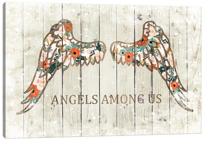 Angels Among Us Canvas Art Print