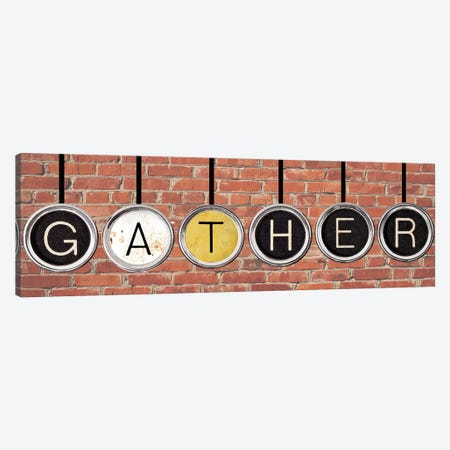 Gather Canvas Print #FPP60} by Front Porch Pickins Canvas Artwork